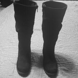 BLACK JUSTICE BOOTS